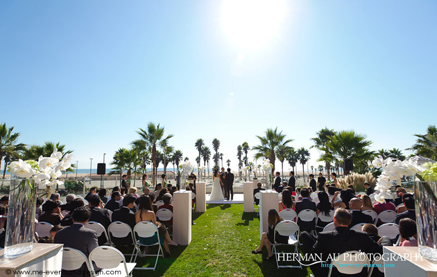 Tina + Miguel :: MARRIED :: Hyatt Regency Resort and Spa, Huntington Beach, CA
