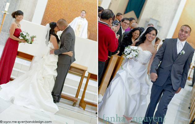 Melanie + Dean :: MARRIED :: Doubletree, Santa Ana, CA