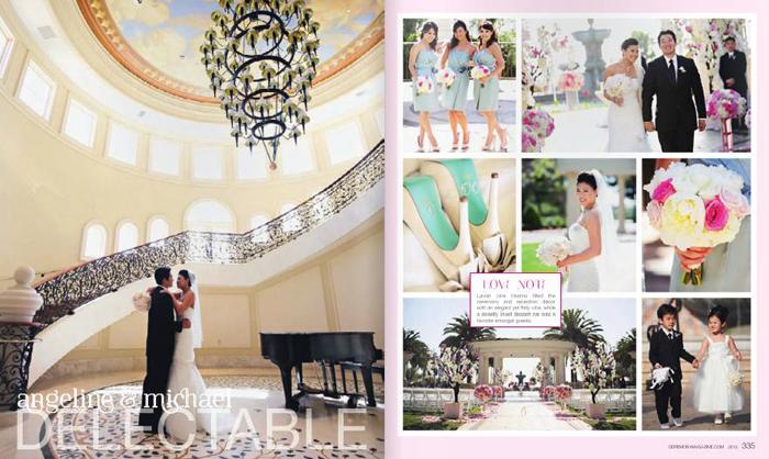 Featured in Ceremony Magazine!! :: ANGELINE + MICHAEL