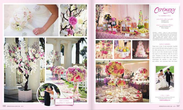 Featured in Ceremony Magazine!! :: ANGELINE + MICHAEL
