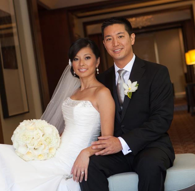 Happy anniversary, Tania + Steven!!