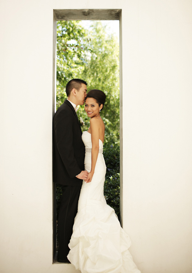 Chikara + Eric :: MARRIED :: Skirball Cultural Center, Los Angeles, CA