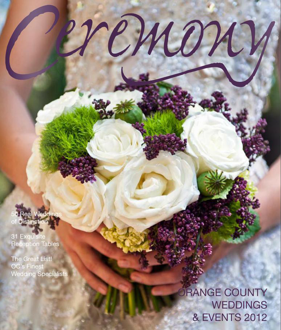 Ceremony Magazine Orange County 2012