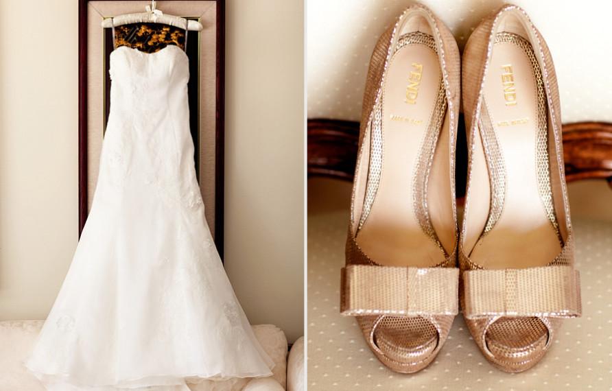 Terranea Wedding, Wedding dress, Wedding Shoes