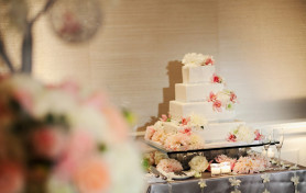 The London West Hollywood Wedding, Trista Lerit, Wedding Cake