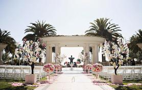 St Regis Monarch Beach Wedding, Trista Lerit, Pink Wedding, Nisie's Enchanted