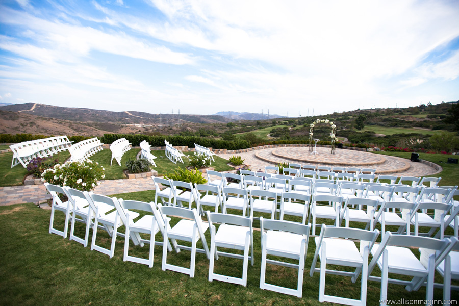 Bella Collina San Clemente Wedding By Allison Maginn Ceremony