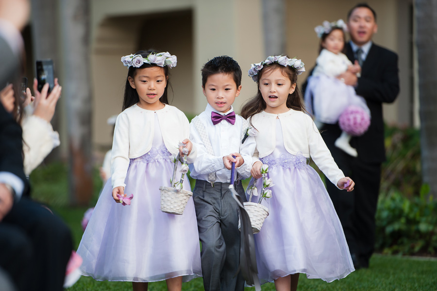 Ritz Carlton Laguna Niguel Wedding By Lin And Jirsa 19 Ceremony Flower S Ring Bearer