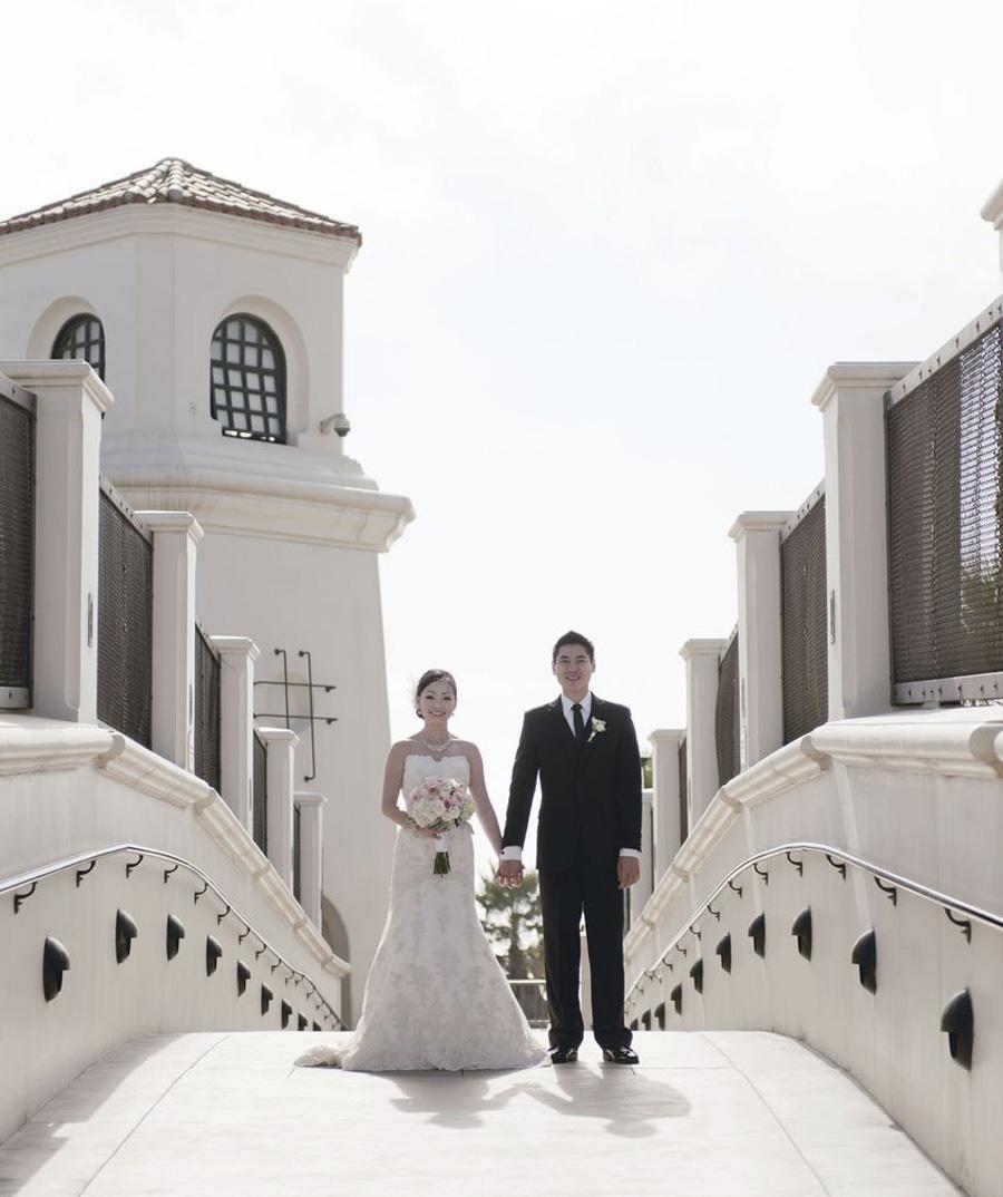 Hyatt Huntington Beach Wedding By John Park 14 Bride And