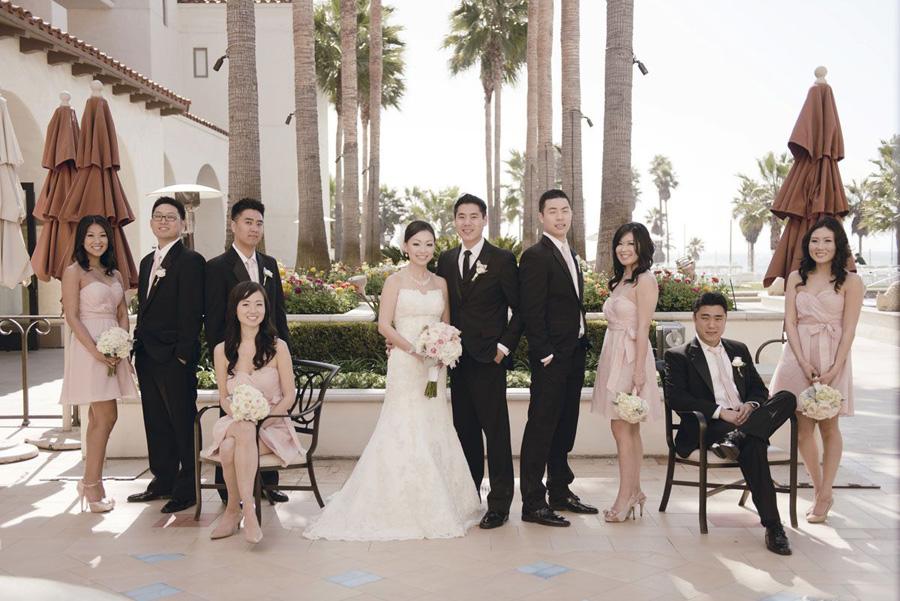 Hyatt Huntington Beach Wedding by John Park 18 California Courtyard ...