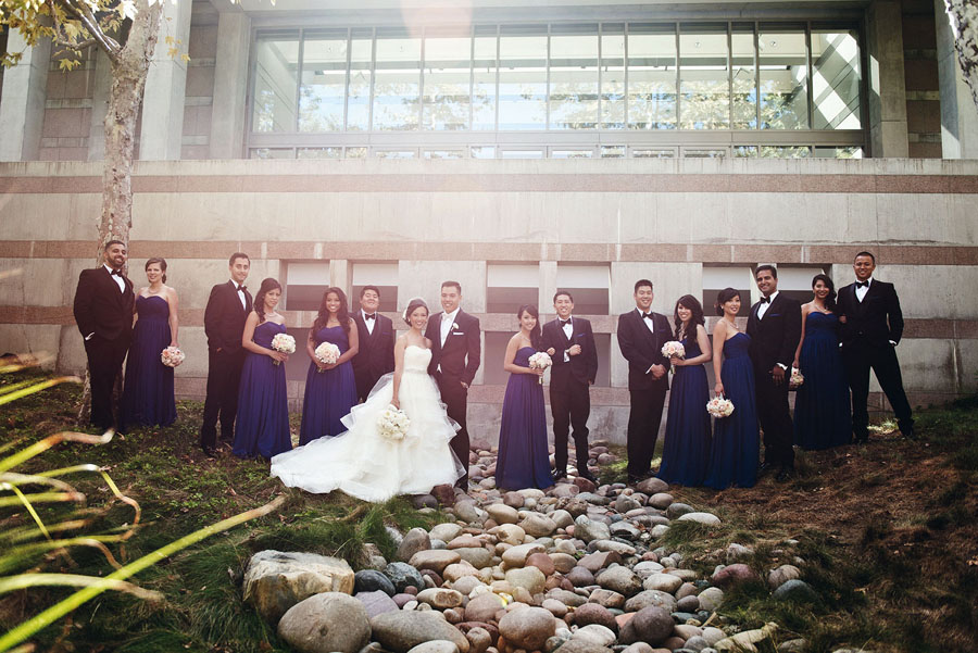 Tracy + Ryan :: Married :: Skirball Cultural Center, Los Angeles CA