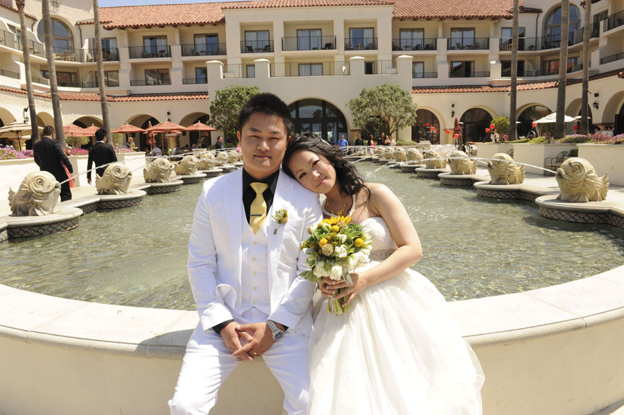 Sharon + Steven :: MARRIED :: Hyatt Regency Resort and Spa, Huntington Beach CA
