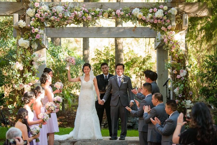 Angela + Roger :: Married :: Calamigos Ranch, Malibu CA