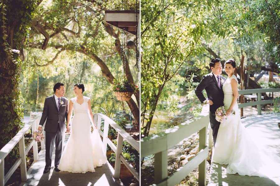 Angela + Roger :: Married :: Calamigos Ranch, Malibu CA