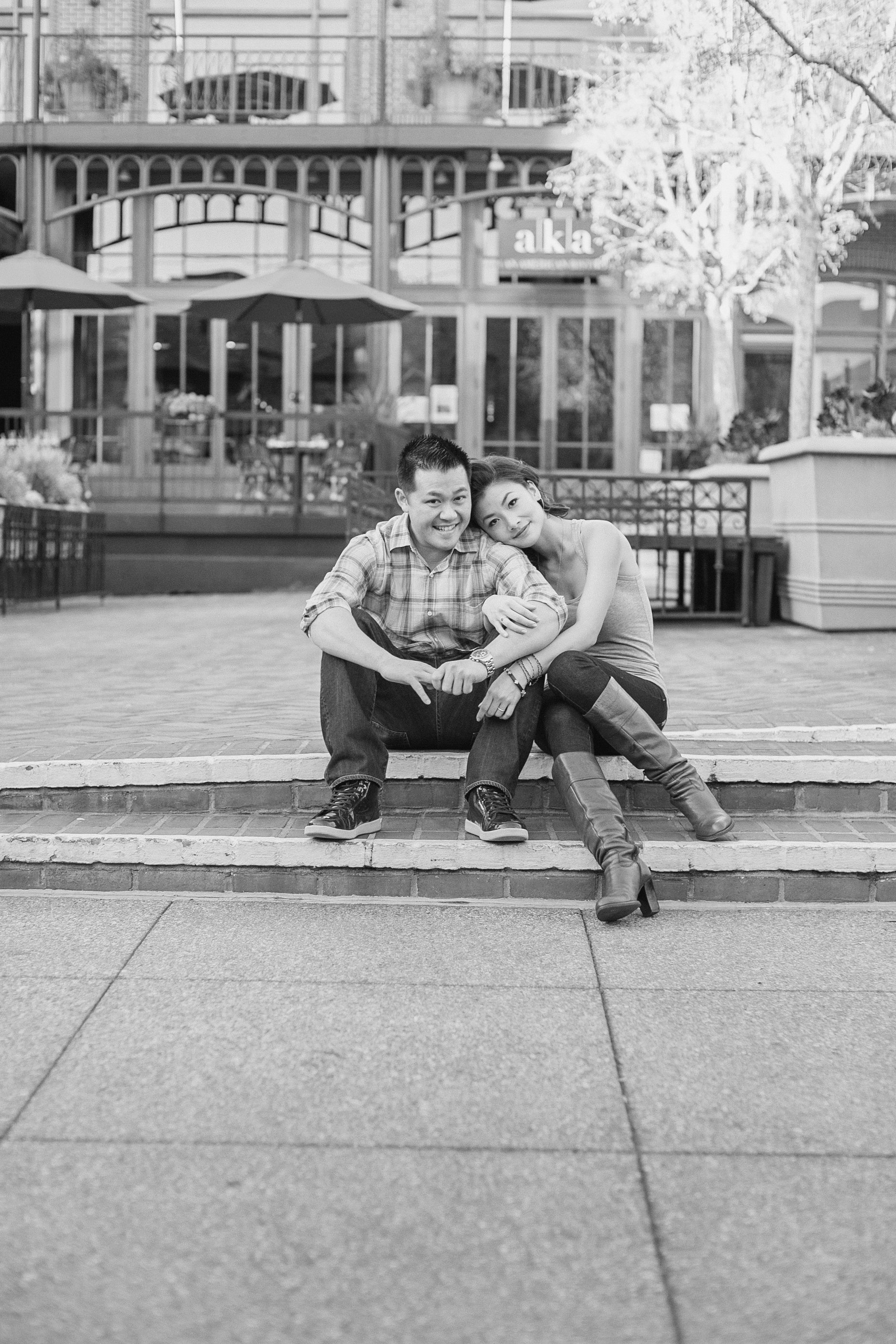 Christin + Brian :: Engaged :: Pasadena CA