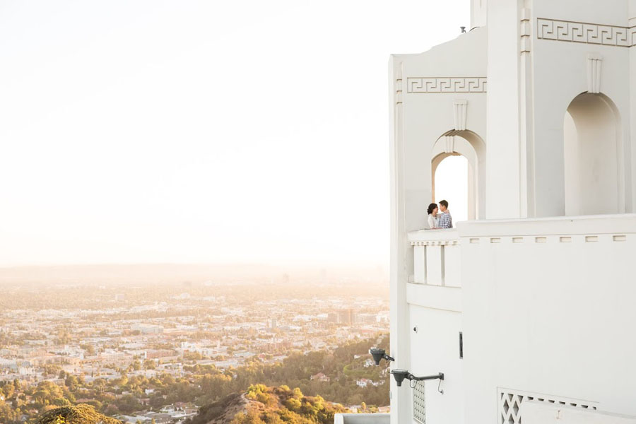 Elizabeth + Maurice :: Engaged :: Los Angeles CA