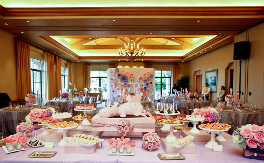 Kylie's First Birthday Party/Dol :: The Resort at Pelican Hill, Newport Coast CA