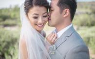 26 Strawberry Farms Wedding by Jasmine Star Bride and Groom