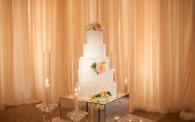 22 Pelican Hill Wedding by Kim Le - Reception Details Wedding Cake