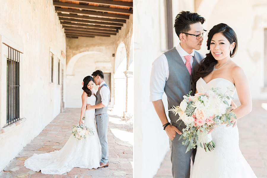 Alyssa + Tony :: Franciscan Garden, San Juan Capistrano, CA