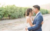 19 Limoneira Wedding by Kristina Adams Photography Bride and Groom Portraits