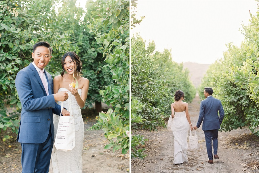 Lillian + Binh :: Limoneira Ranch, Santa Paula, CA