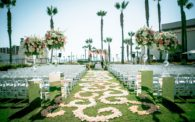 17 Hyatt Regency Huntington Beach Wedding by Justin Element_Ceremony Wideshot