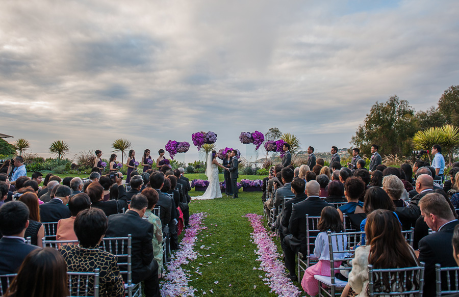 Ritz Carlton Laguna Niguel Wedding By Lin And Jirsa 21 Ceremony